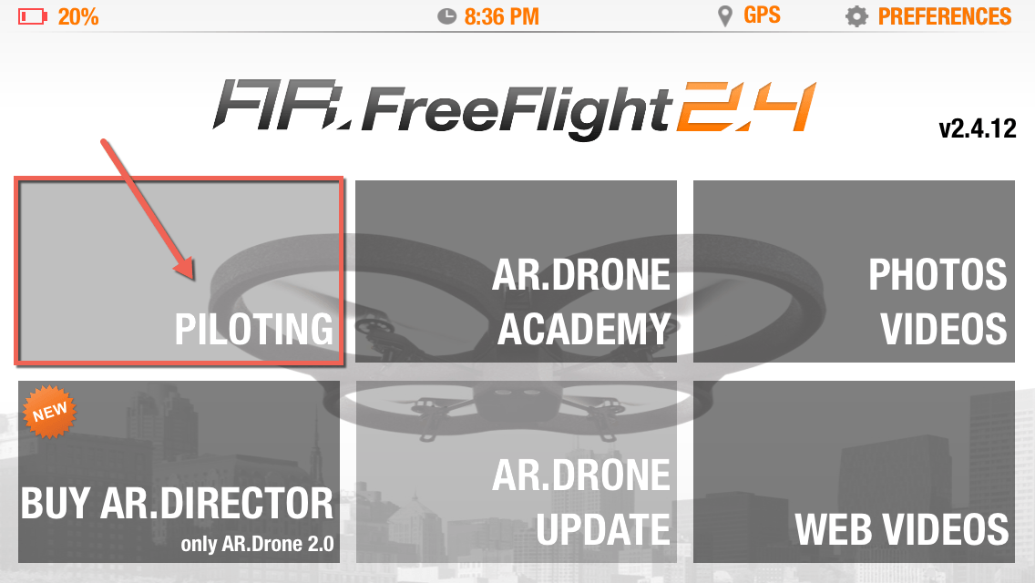 How to Flip the Parrot AR Drone 2 0 - DroneLifestyle