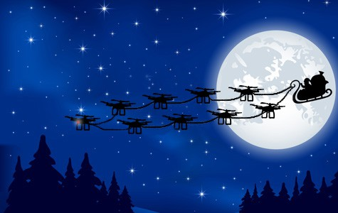 drone this holiday season