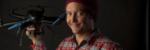Snowboarder, Xavier De Le Rue, Helps Design Dream Drone