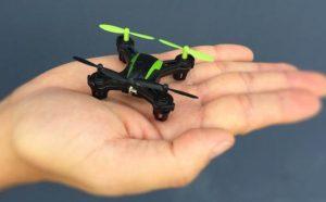 Sky Viper Drone Palm Size Comparison