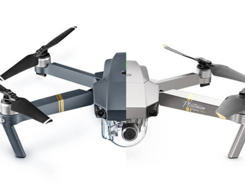 DJI Mavic Platinum Drone vs. DJI Mavic Pro