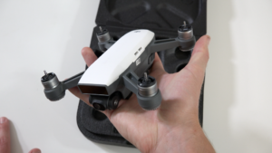 DJI Spark Fits in Palm of Hand