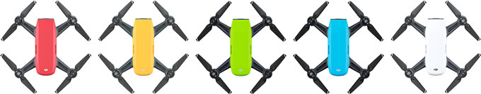 DJI Spark Color Variations